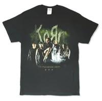 korn tps paradigm shift tour 2014 black t shirt new official band merch