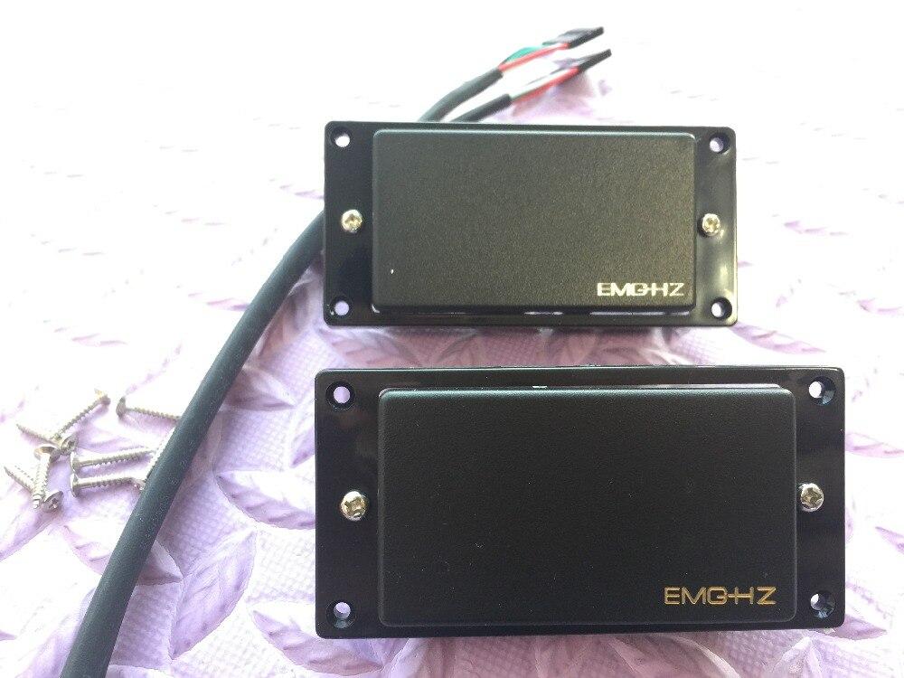 Pickups passivos da guitarra elétrica de 5 cortes hz4/h4a captadores passivos humbucker com função push-pull frete grátis