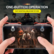 Mobile Phone Gamepad For PUBG Mobile Trigger Fire L1R1 Shooter Controller Joystick Aim Key For Shoot