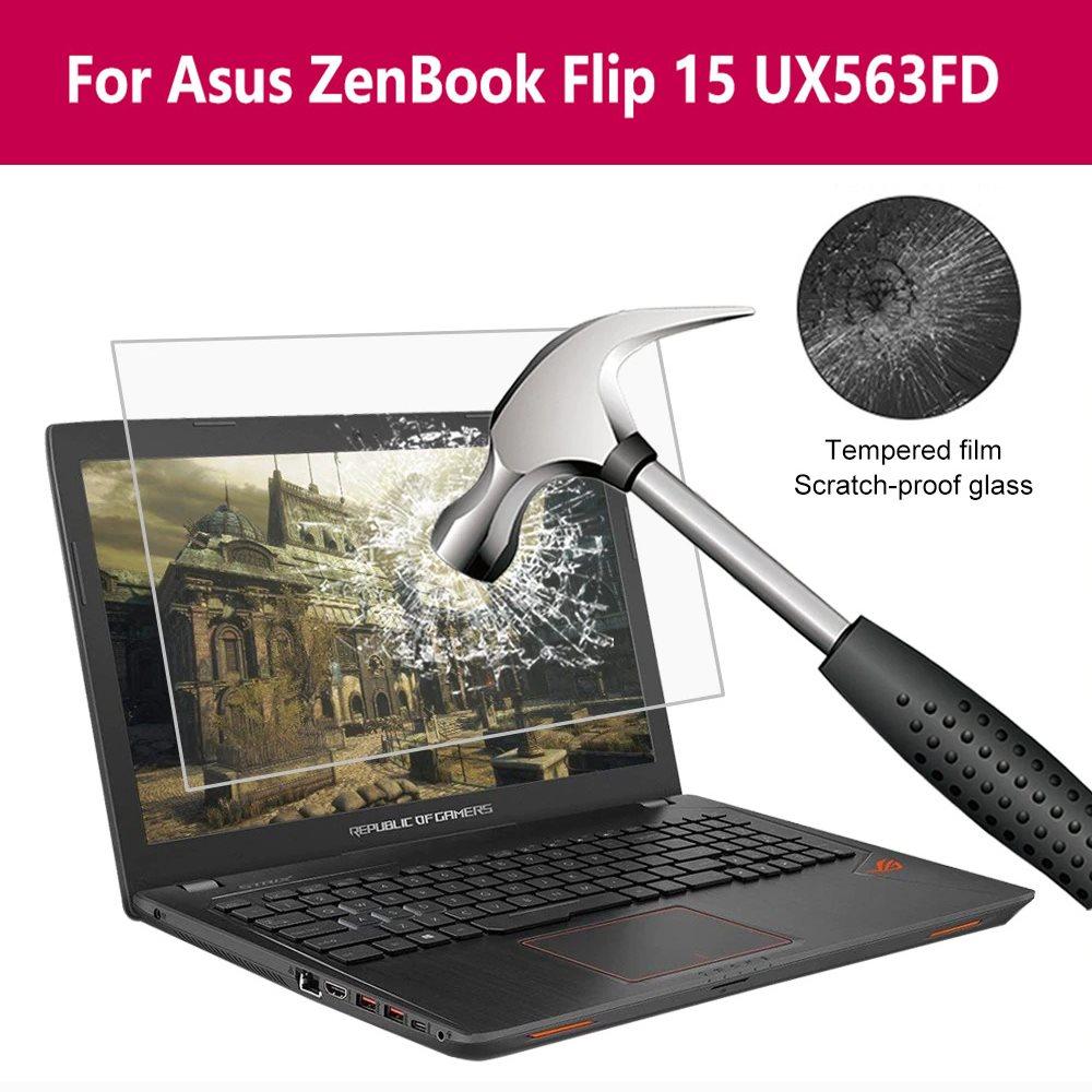 Para Asus Zenbook Flip 15 Ux563fd, portátil, película de pantalla, portátil 14 pulgadas 13,3 pulgadas PC Tablet PET Protector de pantalla de vidrio templado