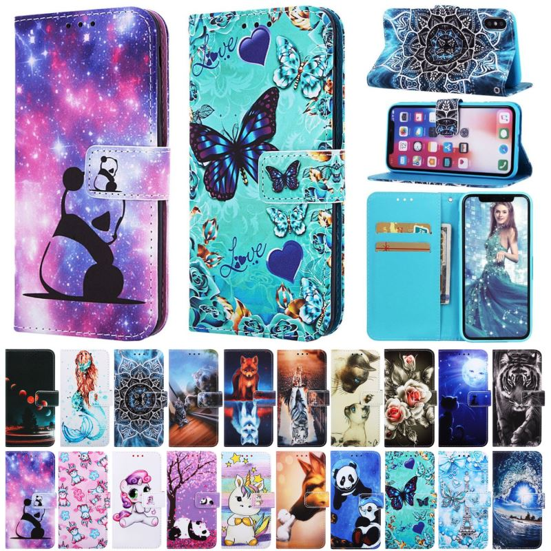 Роскошный Винтажный чехол для телефона Samsung Galaxy S8 J6 Plus A10 A20 A30 A40 A50 A70 M10 M20 M30 кошелек Художественный Цветочный чехол D03D