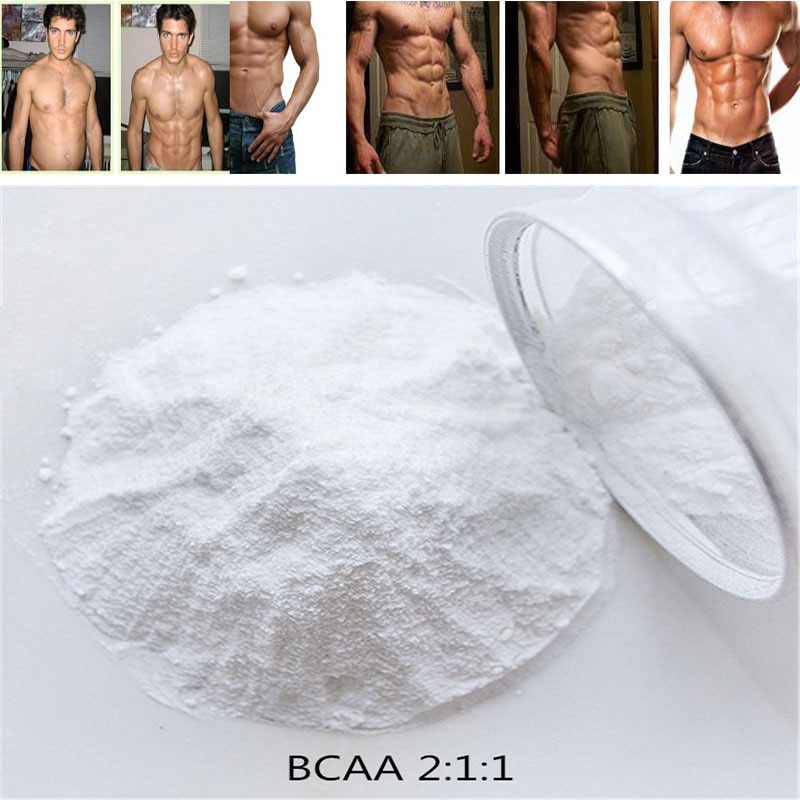 Bodybuilding supplement 99% Branched Chain Amino Acid (2:1:1 BCAA) Powder,Support Muscle Growth & Strength,Boost energy