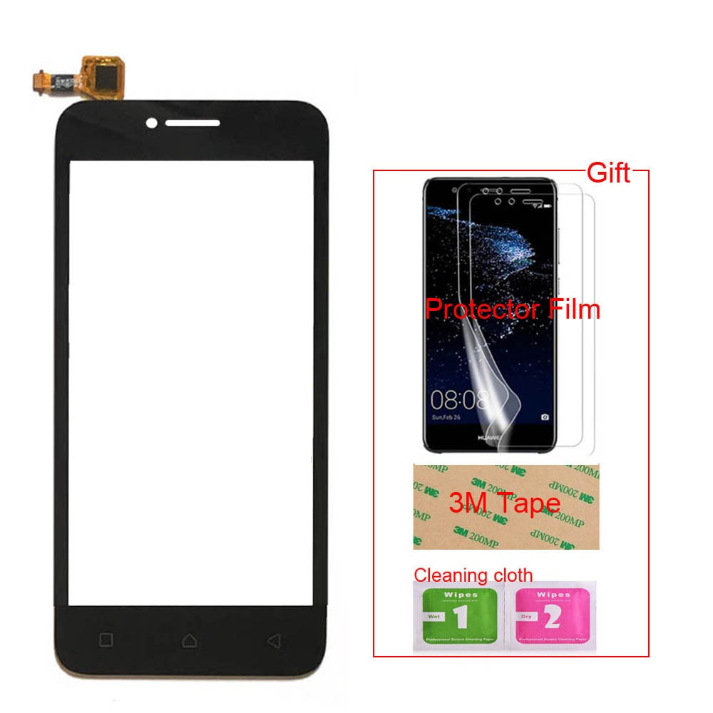 4.5'' TouchGlass Mobile Phone For Lenovo A plus a1010 A 1010 A1010a20 Touch Screen Glass Digitizer P