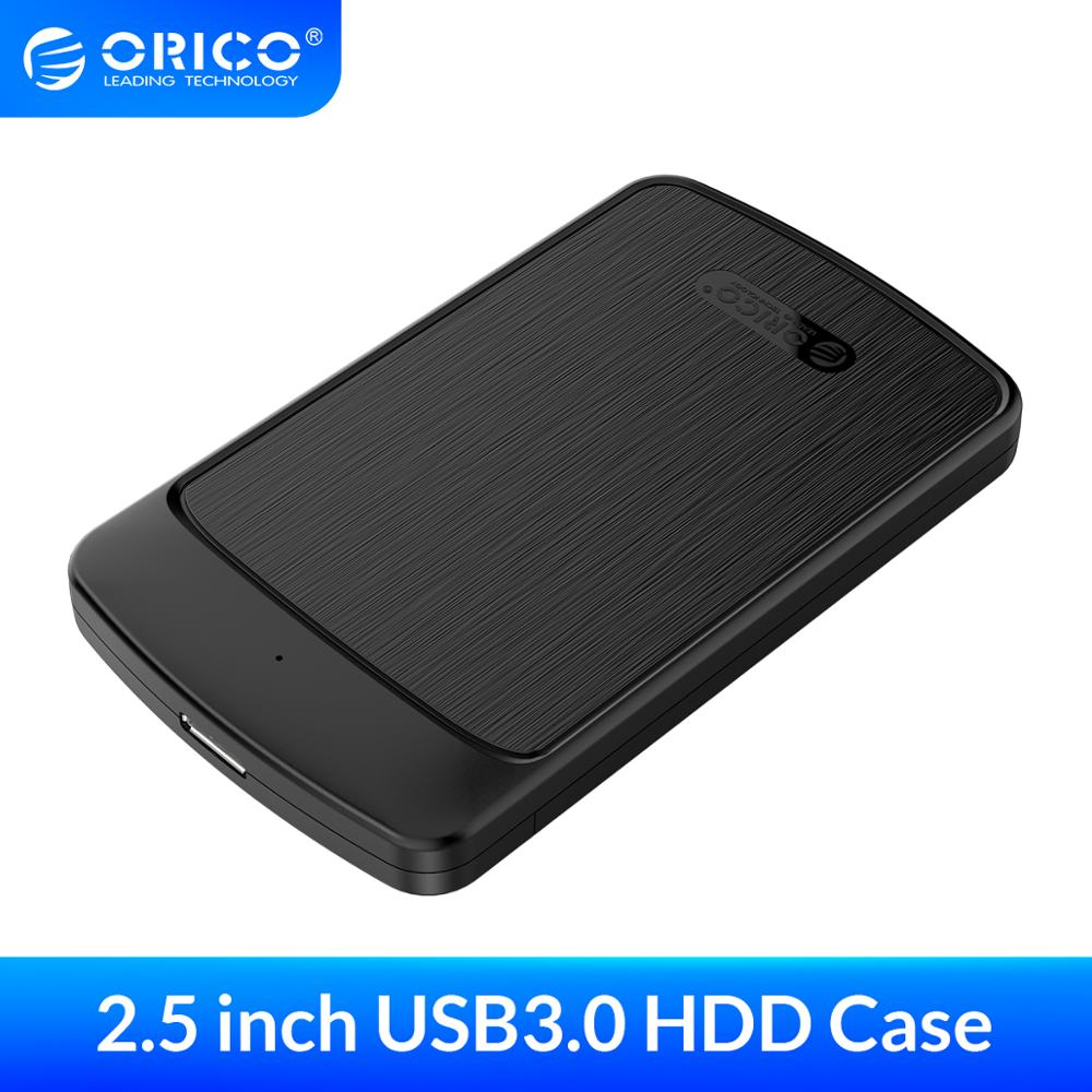 ORICO HDD Case 2.5 inch SATA to USB 3.0 External Hard Drive Enclosure for 7mm/9.5mm SSD Disk with UASP Auto Sleep HDD Enclosure