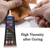 30ml fabric adhesive sew glue cloth glue super high viscosity strength for clothes fabrics and textiles fast dry no irritation