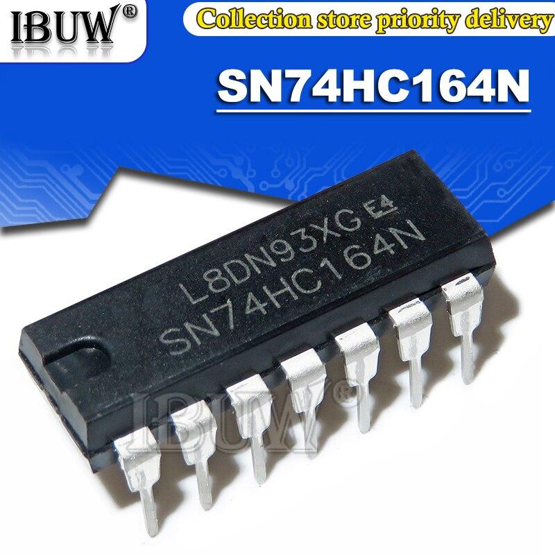 10PCS SN74HC164N DIP14 SN74HC164 74HC164N 74HC164 DIP IC Integrado