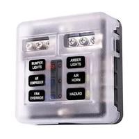 car blade holder fuse box 121086 ways modified terminal block fuse with led warning light for car boat marine trike 12v 24v