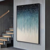 europe abstract starry sky restaurant canvas decorative painting poster picture album photo home decor wall art room decoration