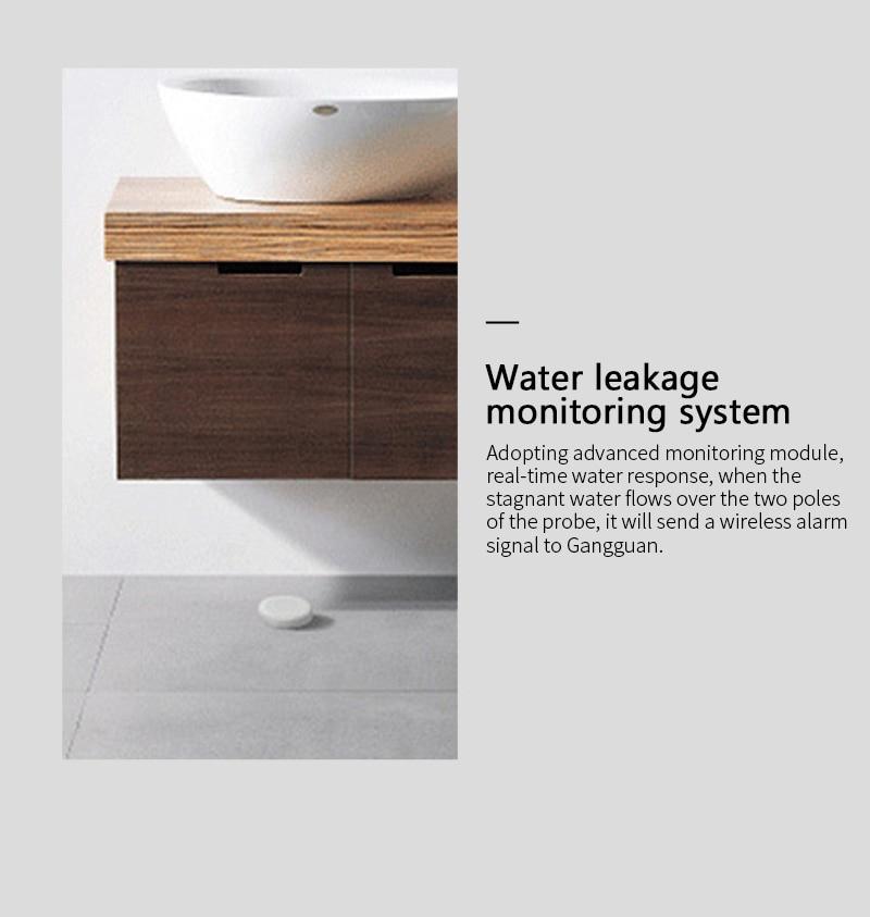 Water Leak Detector Flood Sensor Water Tank Full Water Linkage Alarm Smart Life APP Remote Monitoring enlarge