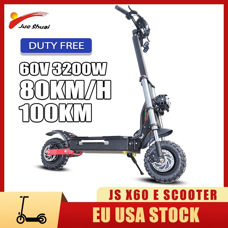 Patinete eléctrico de doble Motor para adultos, scooter plegable de alta velocidad...