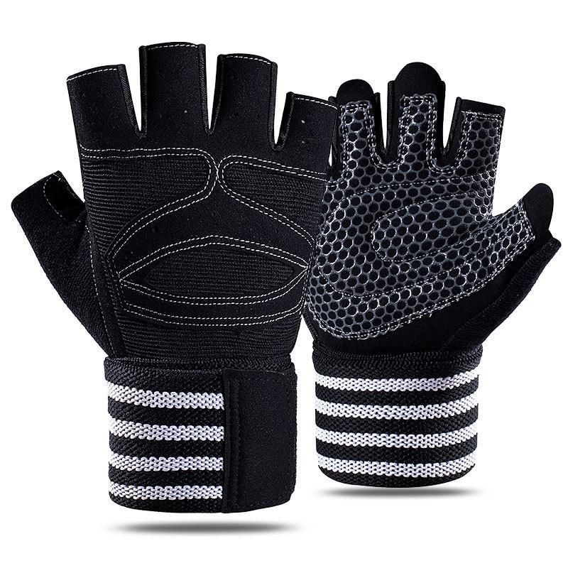 Gmy Half Finger Fitness Gloves Heavy Strength Equipment Training Non slip Resistant Anti Cocooning E