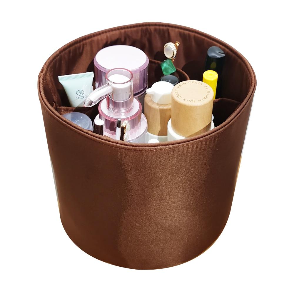 For Cannes 15 20 Insert Bags Organizer Makeup Handbag Organize Inner Purse Portable base shaper Premium nylon (Handmade