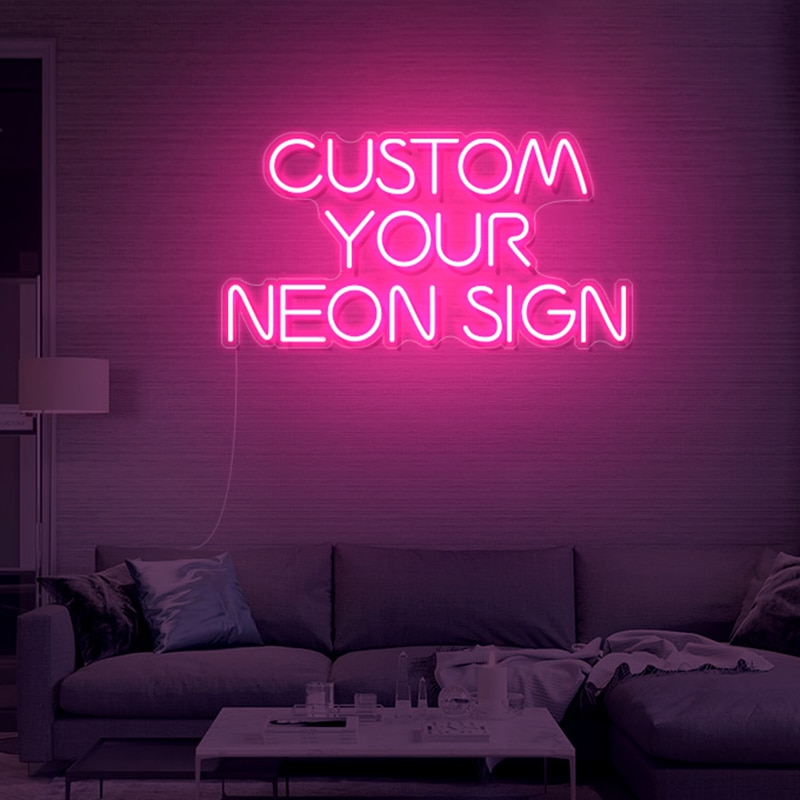 Personalized Neon Signs, Custom Neon Signs Light, Neon Bedroom, Birthday Party, Christmas, Wedding, Business, Bar Neon Decor