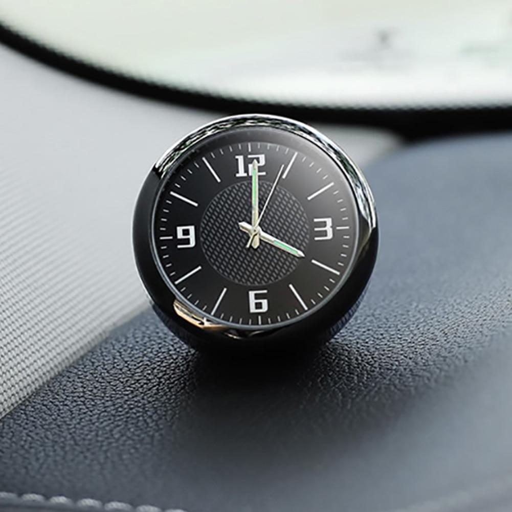 Новые универсальные автомобильные часы, цифровые часы для приборной панели, мини-часы для кондиционирования воздуха, автомобильные аксесс...