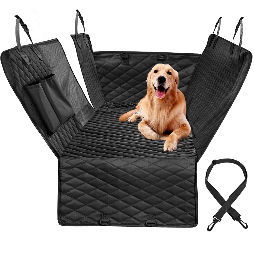 Dog Car Seat Cover For Car Rear Back Seat Waterproof Pet Dog Travel Mat Pet Cat Dog Carrier Dog Car Hammock Cushion Protector