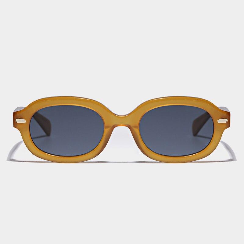 2021 موضة نظارات شمسية النساء خمر البيضاوي نظارات UV400 العلامة التجارية الفاخرة الذكور الإناث في الهواء الطلق نظارات شمسية