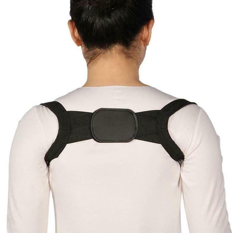 Unisex Invisible Back Shoulder Posture Corrector Orthotic Spine Support Belt LDF668