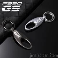 universal fashion motorcycle alloy keyring keychain for bmw gs f850gs f 850 f850 gs f 850gs 2018 2019 2020 2017 accessories