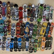 TECH DECK PRO STREET HITS Finger Skate Boarding Model Toys 10pcs SET New Exotic Toys