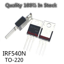 10PCS/LOT    IRF540N  IRF540  33A100V  TO-220  N-channel field effect MOS transistor