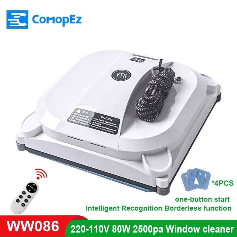 Window Cleaning Machine, Automatic Vacuum Cleaner, Vacuuming Robot, Automatic Recognition Of Borderless Window Cleaning Machine