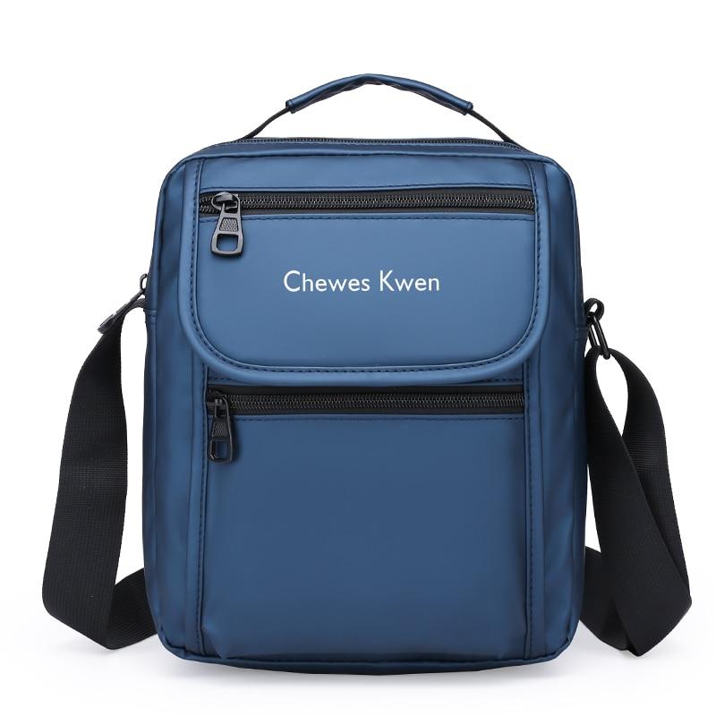 Men's Splashproof Crossbody Shoulder Bags High quality Tote Fashion Business Man Big Size Messenger Bag