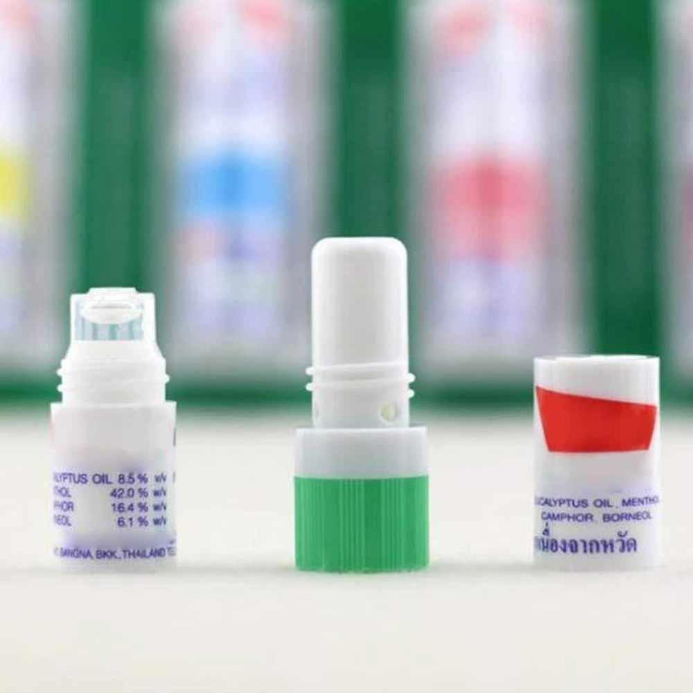Rigasinal Thailand Poy-Sian Mark 2 II травяные контейнеры для носовых ингаляторов Poy Sian, контейнеры для носовых ингаляторов, палочки, цилиндр мяты, эфирное масло, отправка наугад