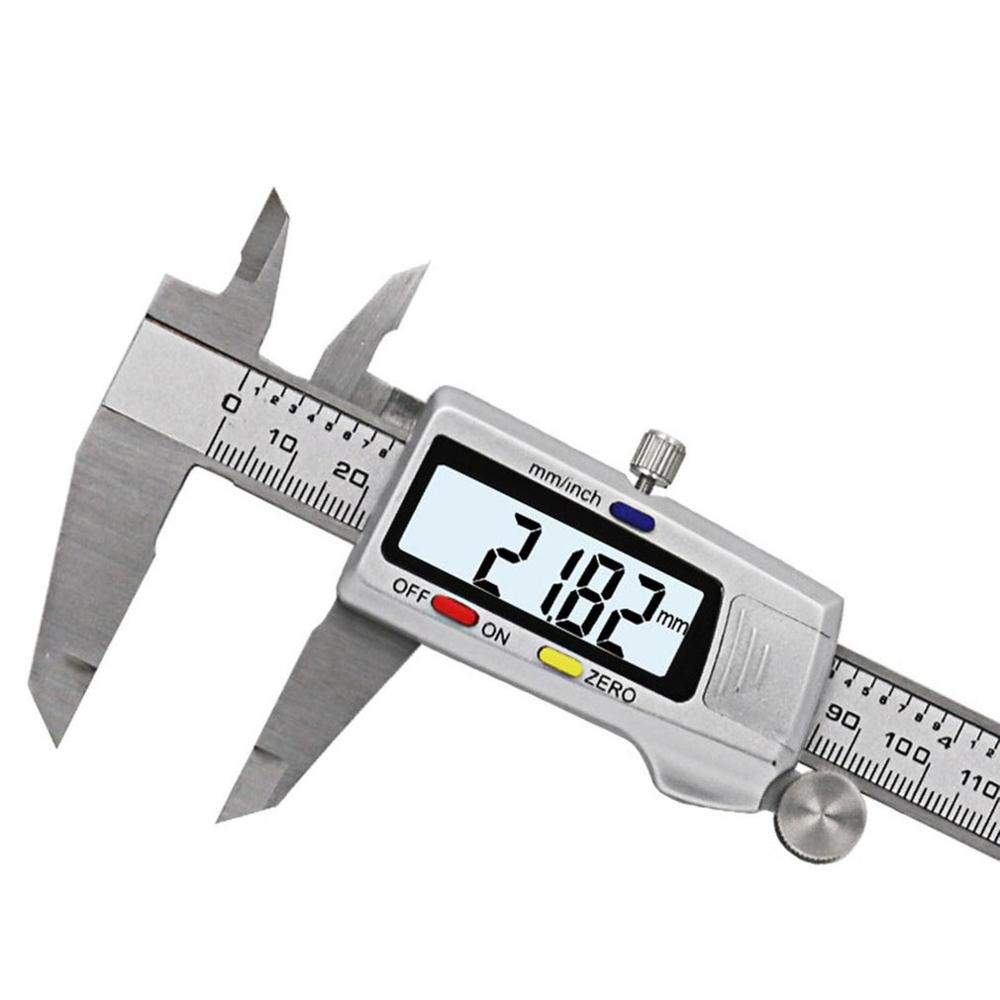 Electronic Digital Display Vernier Caliper 0-150MM Large LCD Screen Digital Direct Reading Micrometer Ruler Measuring Tool
