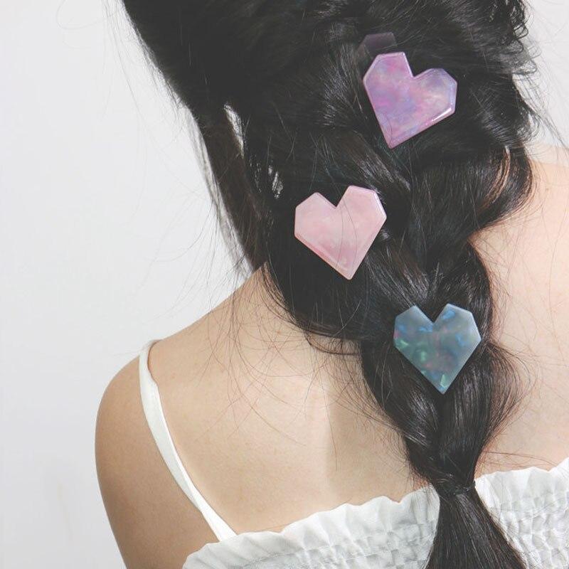 Grampos de cabelo tipo leopardo, grampos de cabelo fofos para mulheres e meninas com cristal acético, de mármore brilhante, acessórios de estilo de cabelo