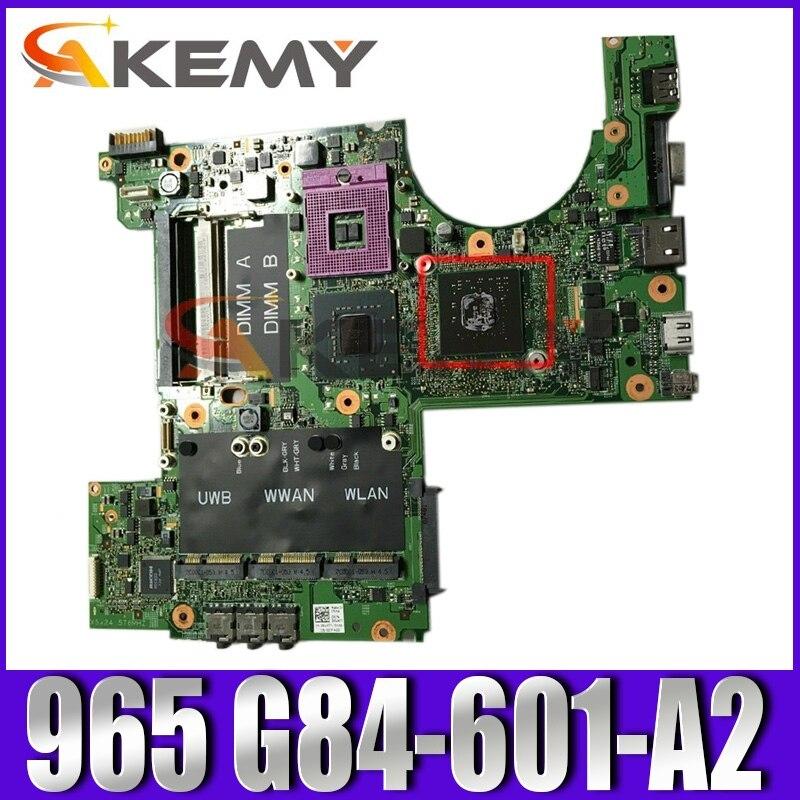 Original ordenador portátil placa base para Dell XPS M1530 placa base CN-0F125F...