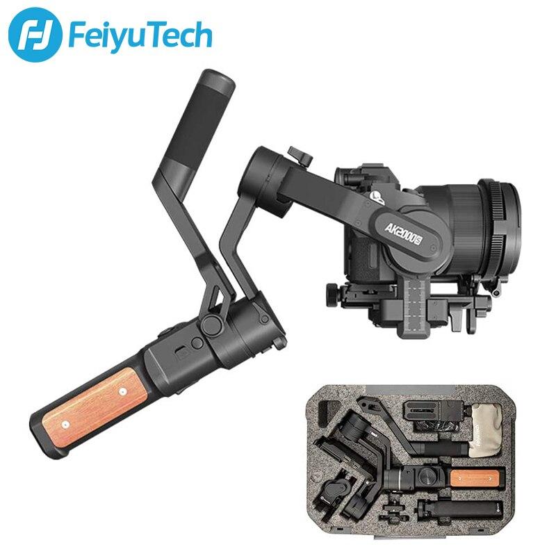 FeiyuTech الرسمية AK2000S DSLR كاميرا استقرار يده Gimbal بدون مرآة 2.2 كجم الحمولة صالح لسوني كانون فوجي