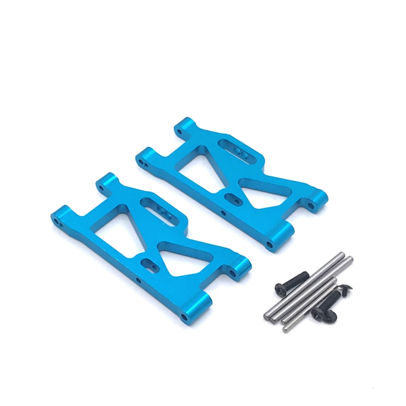 for bmw e36 1992 2005 rear adjustable lower camber plates kit with control arms rocker arm swing bar m3 328i 328ci For WLtoys 144001124016 124017 124018 124019 Remote Control Car Parts Metal Upgrade Rear Swing Arm