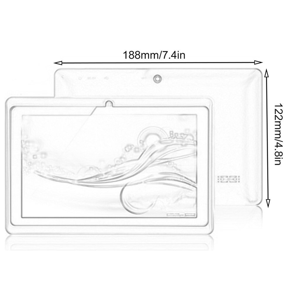 7 Inch A33 WiFi Version Tablet PC High Definition Screen Music Game Entertainment Intelligent Gravity Sensing Computer enlarge