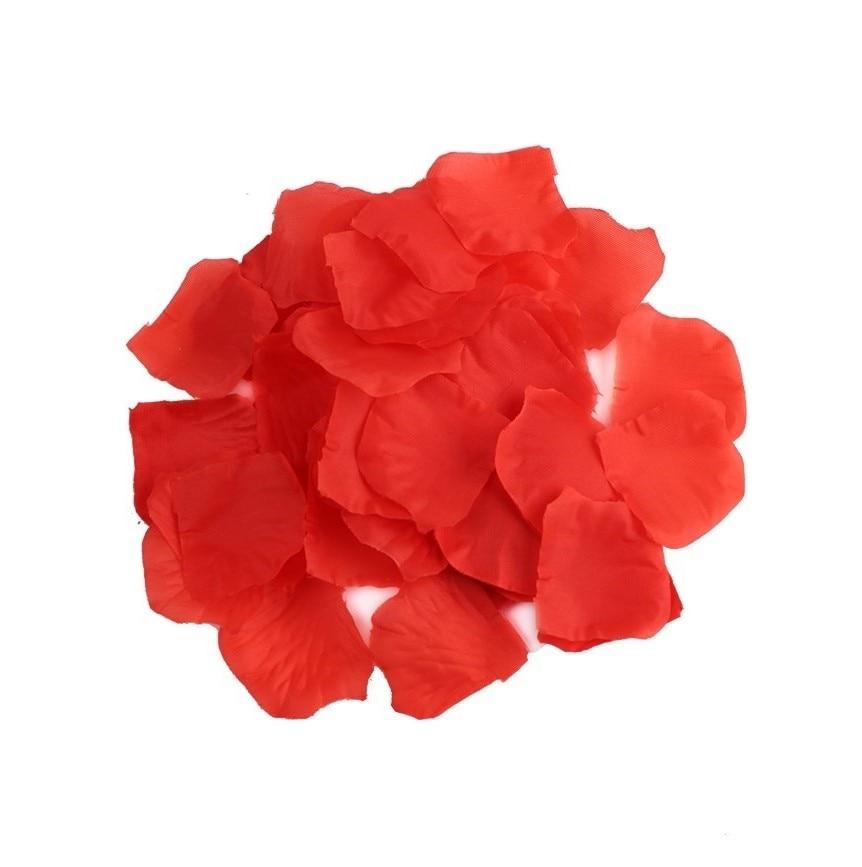100 PCS/Pack Wedding Party Artificial Flowers Silk Rose Petals Table Confetti Carpet Decoration DIY Craft Supplies