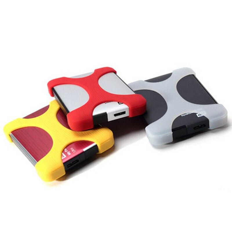 2,5 дюйма противоударный жесткий диск мягкий силиконовый чехол много цветов наклейка на мини-жесткий диск умные аксессуары
