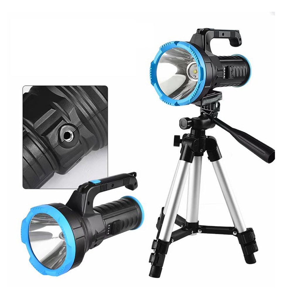 xanes osl p50 spotlight super brilhante luz do trabalho cob luz lateral de carregamento