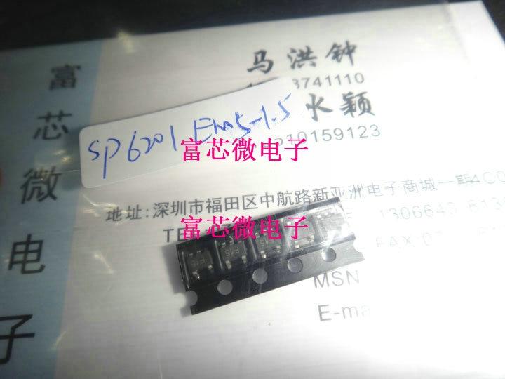 10 peças SP6201EM5-1.5 SP6201EM5-L-1-5/TR SOT23