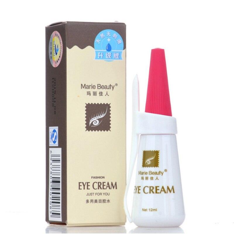 Evitar alergia rápida seca lash cola 12 ml cílios adesivo à prova dwaterproof água individual cílios cola extensões ferramenta