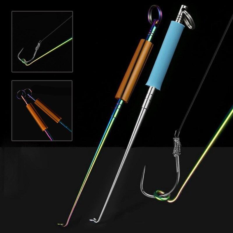 Dispositivo de desacoplamiento de peces quita los anzuelos señuelos Dispositivo de líneas anzuelo de pesca abstracto gancho Metal acero herramientas especiales caliente
