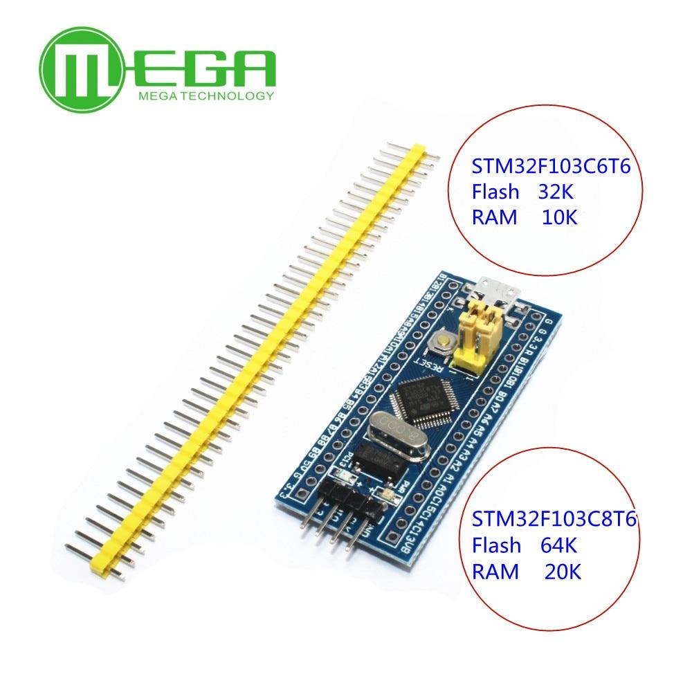 10 قطعة STM32F103C8T6 الذراع STM32 الحد الأدنى نظام مجلس التنمية وحدة CKS32F103C8T6