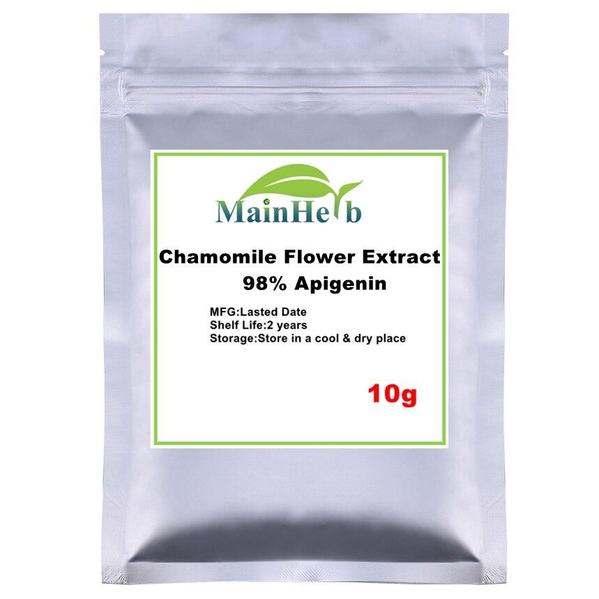 10-300g 98% Apigenin Powder Dried Chamomile Flower Extract