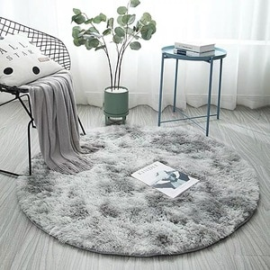 Carpet Tie-dye Gradient Rug Round Hanging Basket Chair Yoga Mat Living Room Mat Can Be Customized Floor Mat In The Room