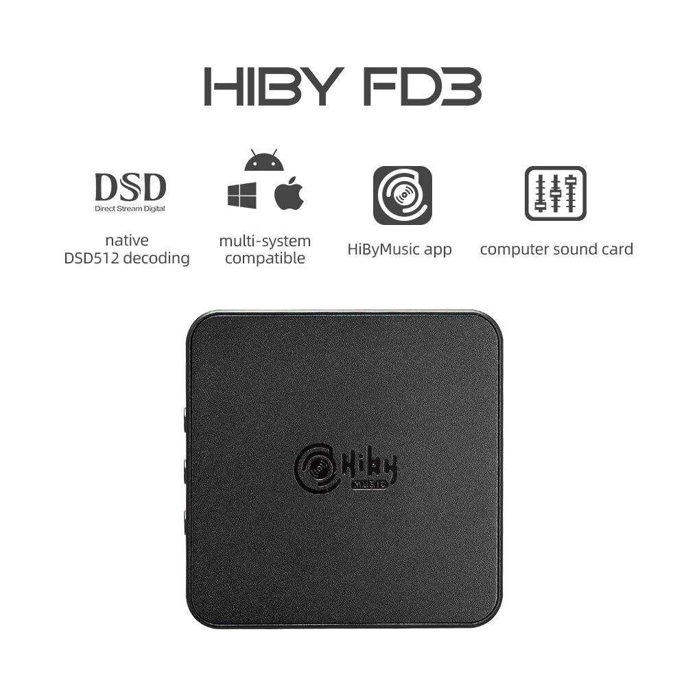 2019 new xmos xu208 usb digital interface support dsd512 pcm768k HiBy FD3 ES9038Q2M Balanced USB Headphone Amplifier Decoding DAC PCM768K DSD512 4.4/3.5/2.5mm Output for Windows Android iOS Mac