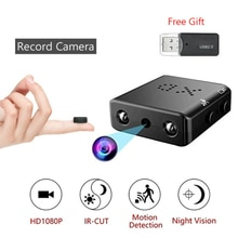 Mini Camera Full HD 1080P Home Security Camcorder Night Vision Micro Cam Motion Detection Video Voic