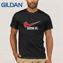 Akatsuki Jutsu Het T-Shirt Grappige Parodie Naruto Japanse Anime Tee Top Mannen S-Xxlfree Verzending Harajuku Tops T-shirt