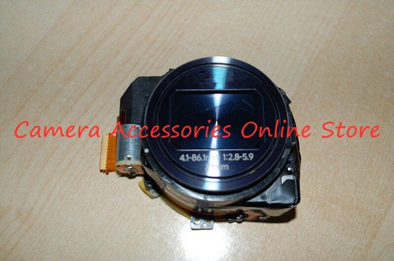 Полный новый оптический зум-объектив в сборе без ПЗС запчастей для Samsung EK-GC100 GC100 GC110 GC120 цифровой камеры