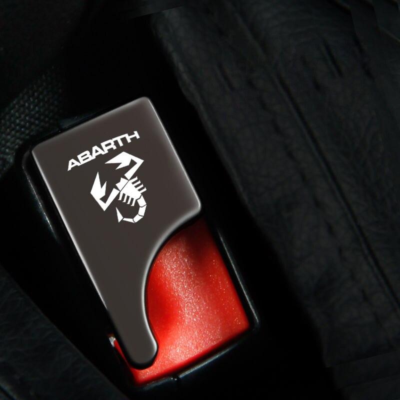 De aleación de cinturón de seguridad de asiento de coche hebilla oculta...