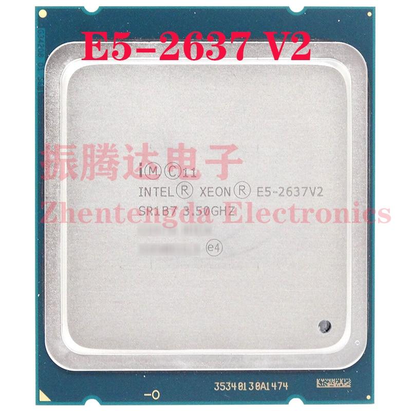 Intel Xeon E5-2637 v2 CPU 3.5GHz 15MB 4 Core 8 Thread LGA 2011 E5-2637v2 Server CPU Processor