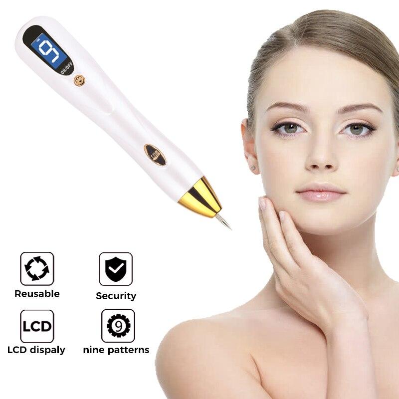 Ручка с веснушками для моль, лазерная ручка для удаления моль, бородавка, инструмент для удаления плазмы, красота, уход за кожей, кукуруза, веснушка, тег, Nevus, темное время, пятна для подметания