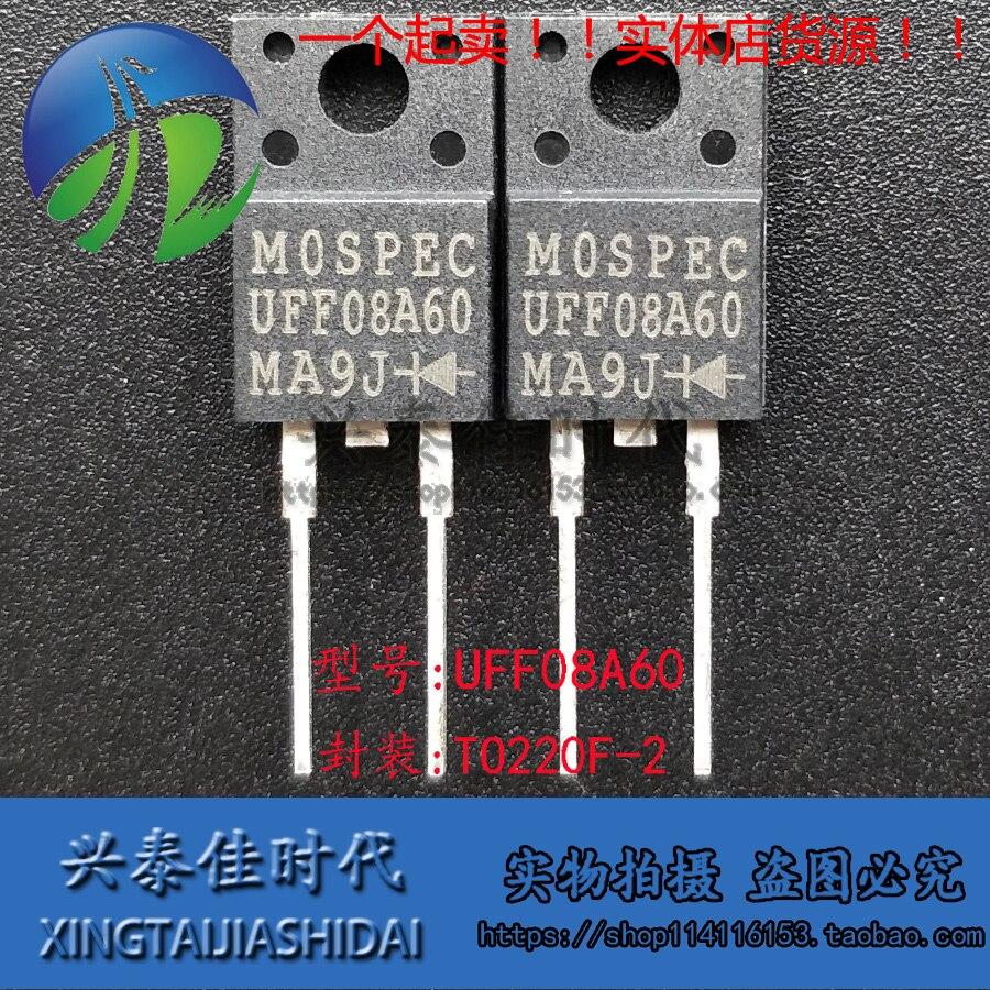 Original novo 2 peças/uff08a60 TO-220F-2